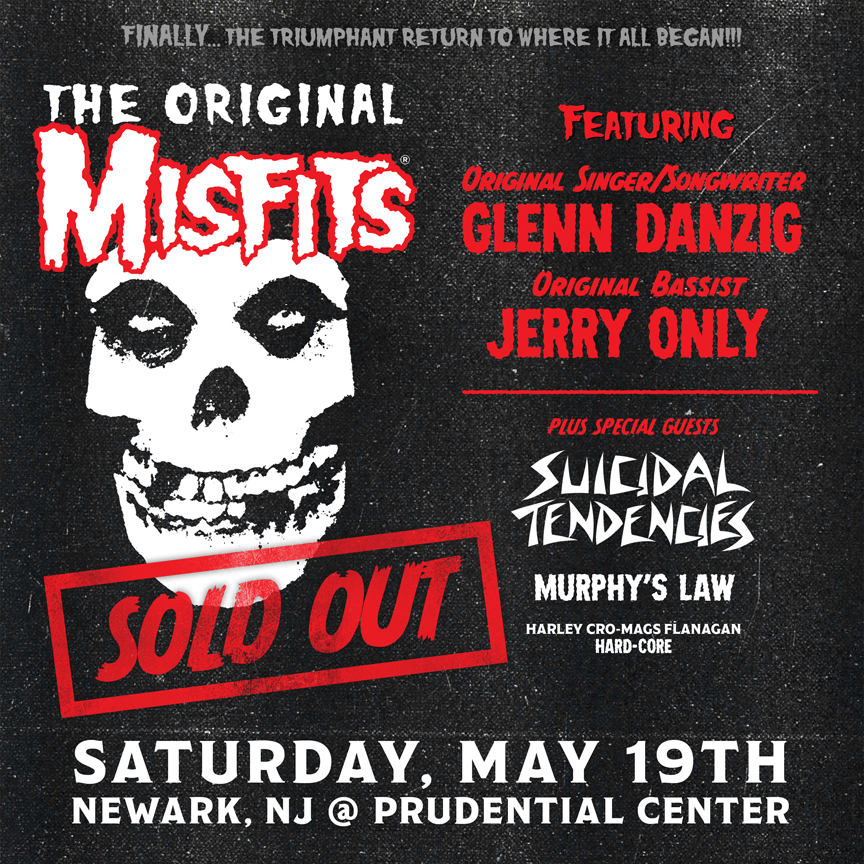41ac4d21138 THE ORIGINAL MISFITS RETURN TO NEW JERSEY FOR ONLY AREA PERFORMANCE ON  SATURDAY